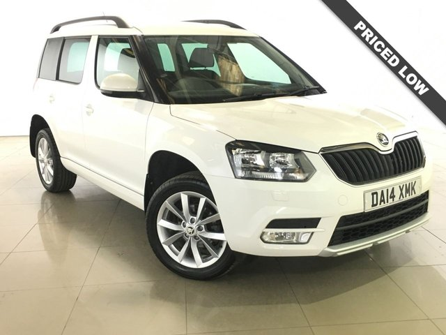 View our 2014 14 SKODA YETI 2.0 SE TDI CR 5d 109 BHP
