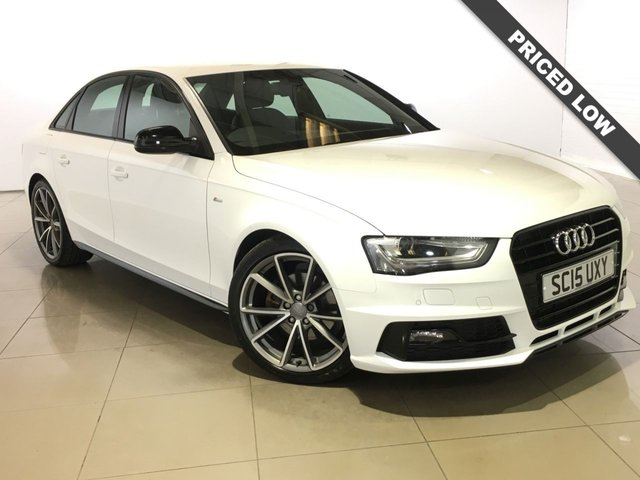 View our 2015 15 AUDI A4 1.8 TFSI S LINE BLACK EDITION NAV 4d 168 BHP