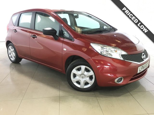View our 2014 14 NISSAN NOTE 1.5 DCI VISIA 5d 90 BHP