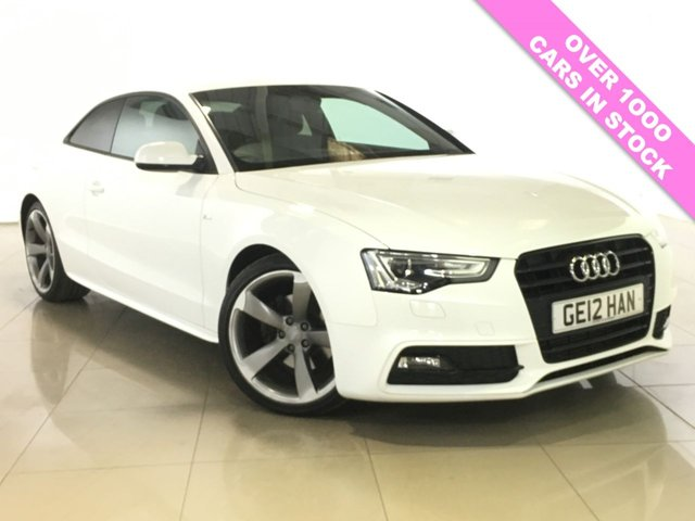 View our 2012 12 AUDI A5 1.8 TFSI S LINE BLACK EDITION 2d AUTO 168 BHP