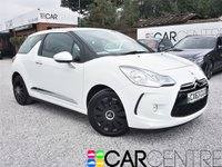 USED 2013 63 CITROEN DS3 1.2 DSIGN 3d 82 BHP 1 PREVIOUS OWNER +FULL SERVICE