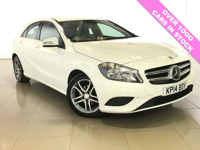 View our 2014 14 MERCEDES-BENZ A CLASS 1.5 A180 CDI BLUEEFFICIENCY SPORT 5d 109 BHP
