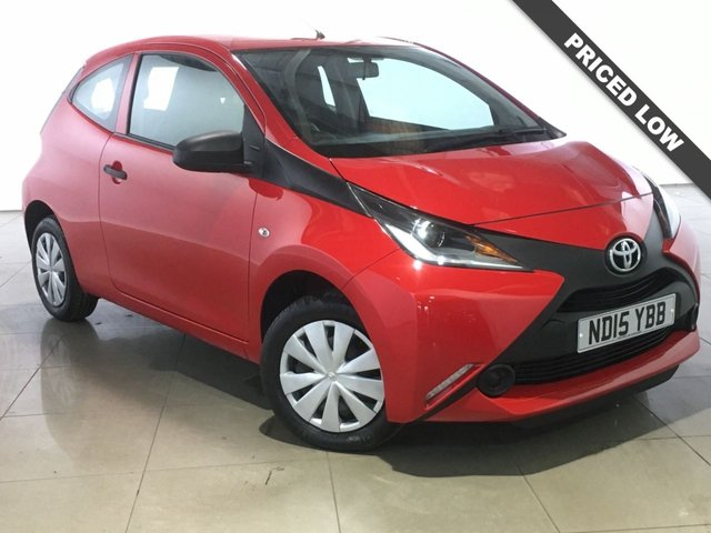 View our 2015 15 TOYOTA AYGO 1.0 VVT-I X 3d 69 BHP