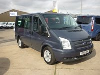 2013 FORD TRANSIT 2.2 280 LIMITED TOURNEO Low Roof  9 Seater  125 BHP NO VAT NO VAT NO VAT !!!!! Air con Bluetooth Cruise Control  Rear Aircon and much more
