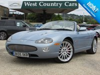 USED 2005 05 JAGUAR XKR 4.2 XKR CONVERTIBLE 2d 400 BHP Comes With Private Plate XK05 XKR