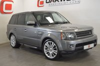 USED 2010 10 LAND ROVER RANGE ROVER SPORT 3.0 TDV6 HSE 5d AUTO 245 BHP LOW MILES + 1 DOCTOR OWNER + NAV + LR HISTORY