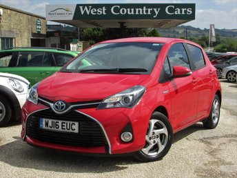2016 TOYOTA YARIS 1.5 VVT-I ICON M-DRIVE S 5d AUTO 73 BHP £11400.00