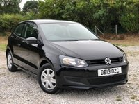 USED 2013 13 VOLKSWAGEN POLO 1.2 S A/C 3d 60 BHP