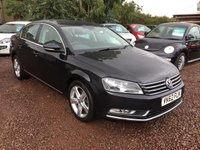 USED 2012 62 VOLKSWAGEN PASSAT 2.0 SE TDI BLUEMOTION TECHNOLOGY 4d 139 BHP