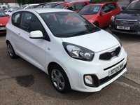 USED 2012 12 KIA PICANTO 1.0 1 3d 68 BHP 1 FAMILY OWNER FROM NEW