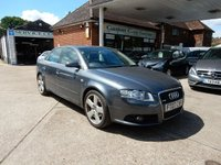 USED 2007 07 AUDI A4 2.0 TDI S LINE TDV 4d AUTO 140 BHP PART EX TO CLEAR BARGAIN