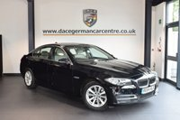USED 2014 64 BMW 5 SERIES 2.0 520D SE 4DR AUTO 188 BHP WITH A SERVICE PACK + FULL OYSTER LEATHER INTERIOR + FULL SERVICE HISTORY + 1 OWNER FROM NEW + SATELLITE NAVIGATION + BLUETOOTH + HEATED SEATS + DAB RADIO + PARKING SENSORS + 17 INCH ALLOY WHEELS +