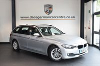 USED 2015 15 BMW 3 SERIES 2.0 320D EFFICIENTDYNAMICS BUSINESS 4DR 161 BHP + FULL LEATHER INTERIOR + FULL SERVICE HISTORY + 1 OWNER FROM NEW + SATELLITE NAVIGATION + BLUETOOTH + HEATED SPORT SEATS + CRUISE CONTROL + DAB RADIO + RAIN SENSORS + PARKING SENSORS + 17 INCH ALLOY WHEELS +