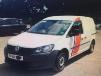 USED 2014 64 VOLKSWAGEN CADDY 1.6 TDI C20 Startline Panel Van 4dr Diesel Manual (149 g/km, 74 bhp) Some dents and marks on side