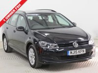 USED 2015 15 VOLKSWAGEN GOLF 1.6 SE TDI BLUEMOTION TECHNOLOGY DSG 5d AUTO 103 BHP ***1 Owner, Full Service History,  MOT until 22 May 2019, Front Rear & Side Park Pilot, Vehicle Path Display,  £20 Road Fund Licence, Bluetooth, Air Conditioning, Alloys. Free RAC Warranty and Free RAC Breakdown Cover. Nationwide Delivery Available. Finance Available at 9.9% APR Representative***