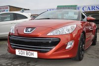 2011 PEUGEOT RCZ 1.6 THP GT 2d 156 BHP £7495.00