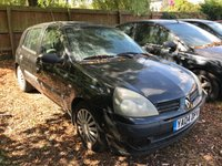 2004 RENAULT CLIO 1.5 EXPRESSION DCI 5d 80 BHP PART EXCHANGE TO CLEAR. MOT UNTIL MARCH 2019 £1000.00