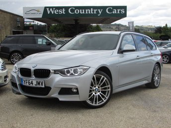 2014 BMW 3 SERIES 2.0 320D XDRIVE M SPORT TOURING 5d AUTO 181 BHP £17000.00