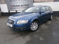 USED 2005 55 AUDI A6 2.0 TDI S LINE 5dr SUPPLIED WITH 12mths MOT - NEW TURBO FITTED RECENTLY