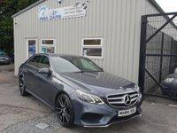 2014 MERCEDES-BENZ E CLASS 2.1 E220 CDI AMG SPORT 4d AUTO 168 BHP £15995.00