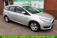 USED 2015 15 FORD FOCUS 1.5 STYLE TDCI 5d 94 BHP +ESTATE +FREE TAX +5 STAMP FSH