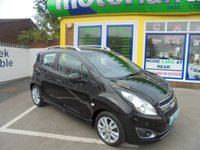 USED 2013 13 CHEVROLET SPARK 1.2 LTZ 5d 80 BHP BUY NOW PAY NEXT YEAR...NO DEPOSIT DEALS