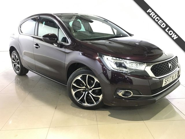 View our 2017 17 DS DS 4 1.6 BLUEHDI PRESTIGE S/S 5d 120 BHP