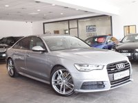 USED 2015 15 AUDI A6 SALOON 3.0 TDI QUATTRO S LINE BLACK EDITION 4d AUTO 215 BHP FACE LIFT MODEL+QUATTRO+FSH
