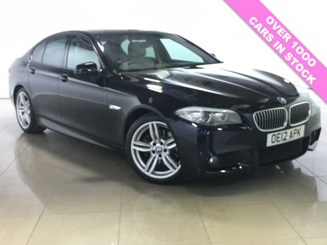 View our 2012 12 BMW 5 SERIES 2.0 520D M SPORT 4d AUTO 181 BHP