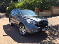 2011 HONDA CR-V 2.2 I-DTEC EX 5d 148 BHP PLEASE CALL TO VIEW £7650.00