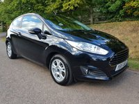 USED 2015 15 FORD FIESTA 1.5 ZETEC ECONETIC TDCI 3d 94 BHP **SUPERB CONDITION**£0 ROAD FUND**1 OWNER**