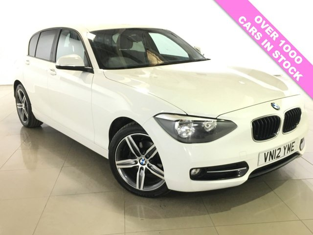 View our 2012 12 BMW 1 SERIES 1.6 116I SPORT 5d 135 BHP
