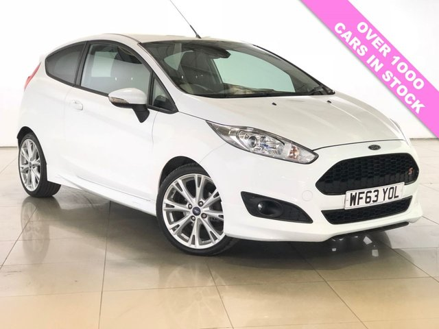 View our 2013 63 FORD FIESTA 1.0 ZETEC S 3d 124 BHP