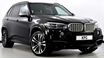 2014 BMW X5 3.0 M50d 4x4 (s/s) 5dr [7 Seats] £37995.00
