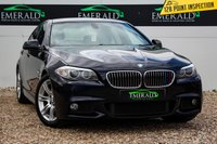 USED 2011 61 BMW 5 SERIES 2.0 520D M SPORT 4d AUTO 181 BHP £0 DEPOSIT FINANCE AVAILABLE, AIR CONDITIONING, BLUETOOTH CONNECTIVITY, CLIMATE CONTROL, CRUISE CONTROL, FULL LEATHER UPHOLSTERY, FRONT & REAR PARKING SENSORS, REVERSE CAMERA, SATELLITE NAVIGATION