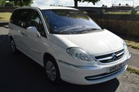 USED 2010 10 CITROEN C8 2.0 SX HDI 5d 7 SEATS  WELL MAINTAINED, 7 SEATS, ELECTRIC REAR DOORS, 6 SPEED MANUAL