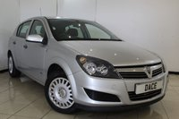 USED 2009 09 VAUXHALL ASTRA 1.6 LIFE A/C 5DR 115 BHP SERVICE HISTORY + AIR CONDITIONING + RADIO/CD + ELECTRIC WINDOWS
