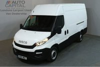 USED 2015 15 IVECO-FORD DAILY 2.3 35S13V 5d 126 BHP L2 H3 MWB HIGH ROOF DIESEL MANUAL VAN  ONE OWNER FULL SERVICE HISTORY