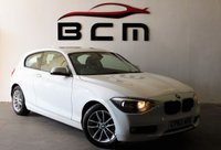2012 BMW 1 SERIES 1.6 116D EFFICIENTDYNAMICS 3d 114 BHP £7485.00