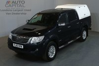 USED 2015 15 TOYOTA HI-LUX 3.0 INVINCIBLE 4X4 D-4D DCB 4d AUTO 170 BHP SAT NAV PICK UP £13,990 PLUS VAT/ BLUETOOTH
