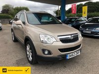 USED 2013 62 VAUXHALL ANTARA 2.2 SE NAV CDTI 4WD 5d 161 BHP NEED FINANCE? WE CAN HELP!