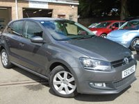 USED 2012 12 VOLKSWAGEN POLO 1.2 MATCH TDI 5d 74 BHP 2 OWNER + VERY CHEAP TO RUN