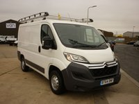 2014 CITROEN RELAY 2.2HDi  30 L1 H1 110 BHP with locks 4 vans slam lock security Locks full rhino roof rack  ply lined electric windows cd player and much more  £SOLD