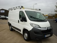 2014 CITROEN RELAY 2.2HDi  30 L1 H1 110 BHP with locks 4 vans slam lock security Locks full rhino roof rack  ply lined electric windows cd player and much more £7995.00