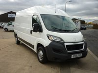 2016 PEUGEOT BOXER 2.2 HDI 335 L3H2 PROFESSIONAL Panel van 130 BHP with aircon cruise bluetooth sat nav and much more  £10495.00
