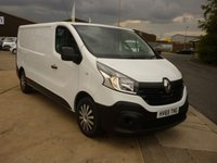 2015 RENAULT TRAFIC 1.6 LL29 BUSINESS ENERGY DCI LOW ROOF  PANEL VAN  120 BHPWITH SAT NAV ELECTRIC PACK AND MORE £SOLD