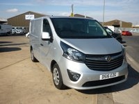 2016 VAUXHALL VIVARO 1.6 2700 L1H1 CDTI PANEL VAN  SPORTIVE  115 BHP WITH AIR CON CRUISE CONTROL AND MORE  £9995.00