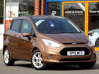 USED 2015 15 FORD B-MAX 1.6 TITANIUM X 5dr AUTO ** Pan Roof + Bluetooth + Cruise **