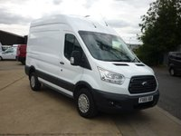 2015 FORD TRANSIT 350 MWB 2.2 350 L2H3 125HP with aircon Auto lights and wipers cruise control heated windscreen front and rear parking sensors and much more  £9995.00