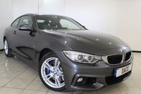 USED 2014 14 BMW 4 SERIES 3.0 435D XDRIVE M SPORT 2DR AUTOMATIC 309 BHP SAT NAV FULL SERVICE HISTORY + HEATED LEATHER SEATS + SAT NAVIGATION + REVERSE CAMERA + BLUETOOTH + CRUISE CONTROL + MULTI FUNCTION WHEEL + CLIMATE CONTROL + 18 INCH ALLOY WHEELS